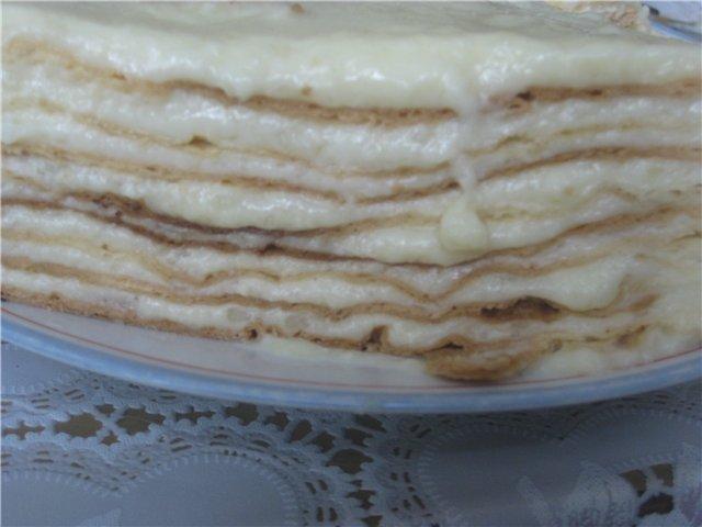Торт Наполеон с нежным заварным кремом - Страница 3 E567c33ffe2c