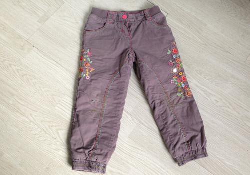 Модные стильные штанишки для девочки 2-4 лет б/у 1d966b619471