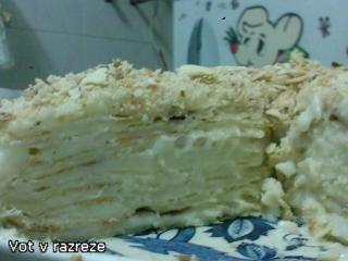 Торт Наполеон с нежным заварным кремом - Страница 2 186bde81b811