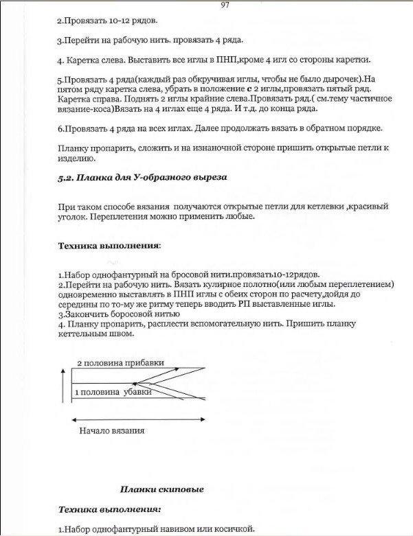 Начальный курс по обучению вязания на вязальной машине SILVER REED   - Страница 5 Bf30e155676a