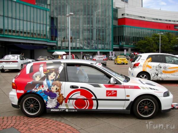 Автомобили в стиле аниме 4feda191c432