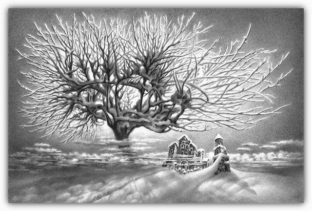 Снег, согревающий душу (Доленджашвили Г.) 02f047b71ff1