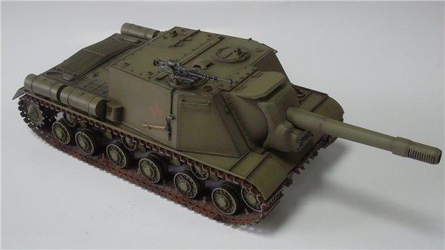 """ИСУ-152 """"Зверобой"""", 1/35, (Звезда 3532) перекраска старой модели. 63d8264068f0"""