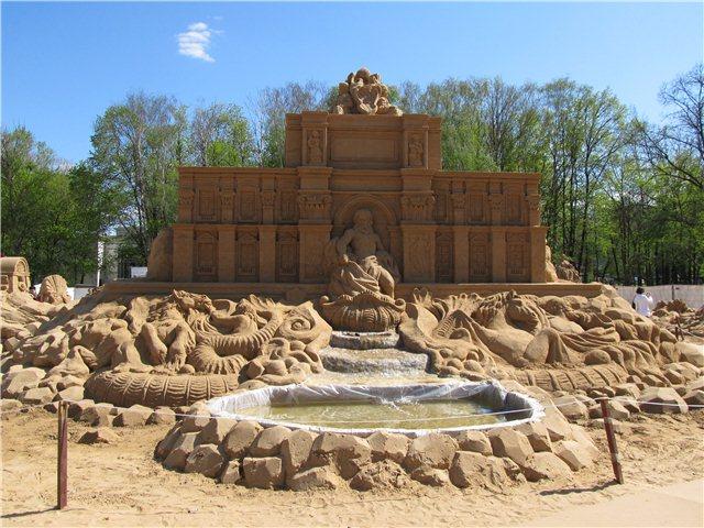 """Международный фестиваль песчаной скульптуры «Знаменитые фонтаны мира"""" D9aed4c1b713"""