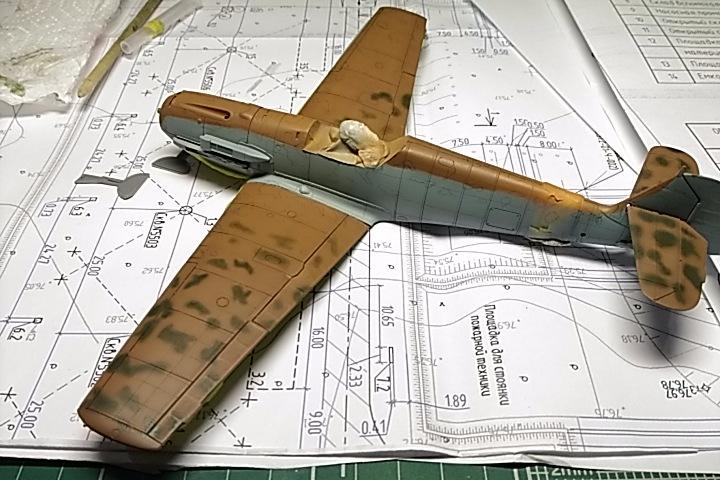 Bf 109 E7/Trop Tamiya 1:48 E3e0d7594238