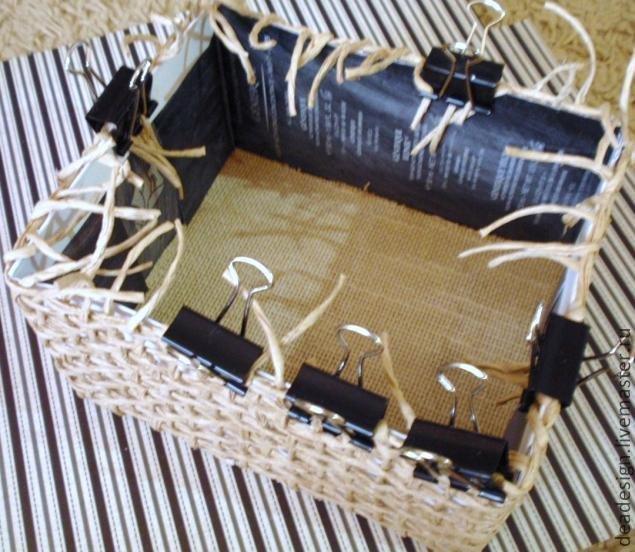 Коробочки, корзинки, шкатулочки, упаковки   F3b4cb55b6c2