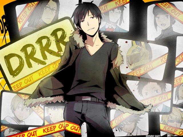 Арт по аниме «Дюрара!» (Durarara!!) 32b575c5ca63