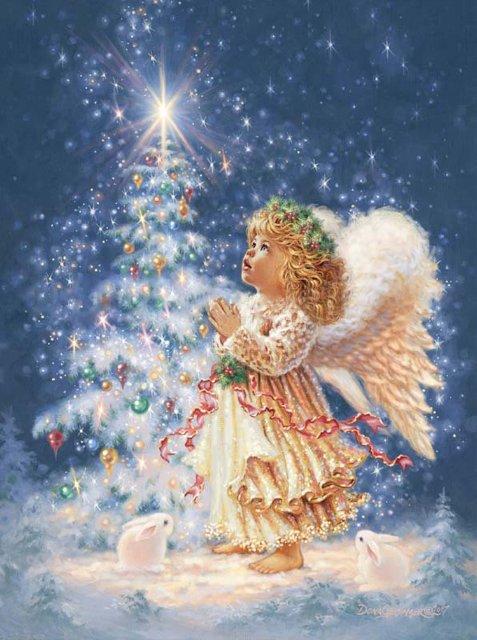 Рождественские ангелы от Dona Gelsinger 3971fb417808