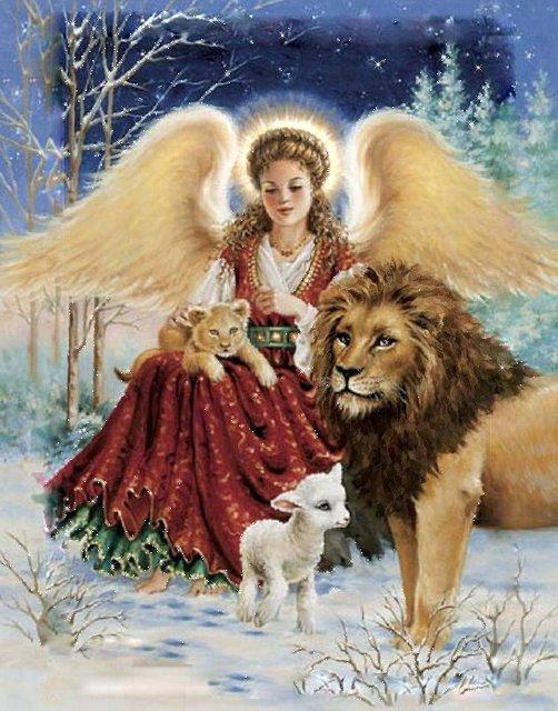 Рождественские ангелы от Dona Gelsinger 7c2acb03dbc9