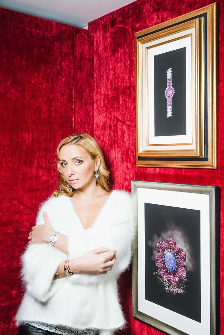 Татьяна Навка - официальный посол бренда Chopard 28a19a40ff00
