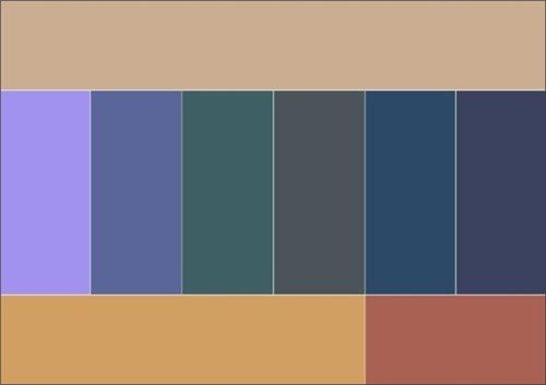 Как правильно сочетать цвета в одежде 4b23b213d207