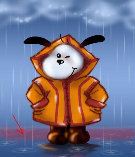 Урок №1 Анимация дождя 83a64f72032c
