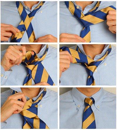 Научимся завязывать мужу галстук 878c3c6a38fb
