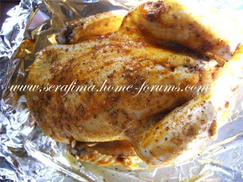 Курица, фаршированная рисом и фаршем. Джадж махшы. Араб.кухня 96fdfb39e4d7