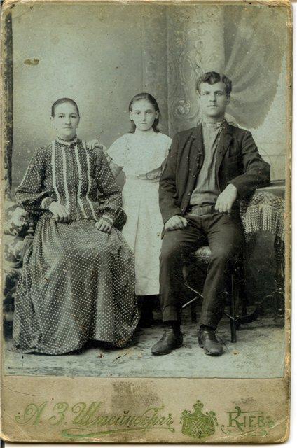 Фотографии из семейных альбомов Нехаевских, которые пока не опознаны E6710c82976e