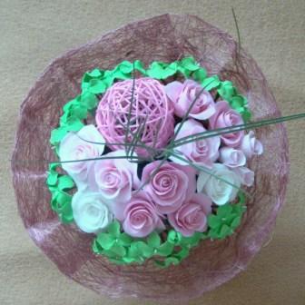 Цветы ручной работы из полимерной глины - Страница 2 8a42a3a09748