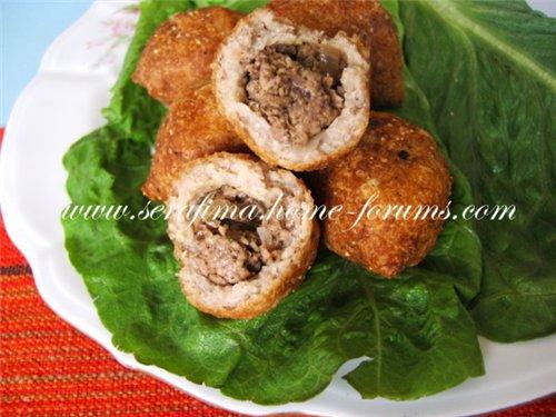 Куббе. Арабская кухня (Котлетки из бургуля и мясного фарша) 27c1323a7dc6