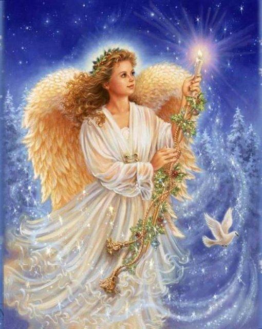 Рождественские ангелы от Dona Gelsinger E9368bdff815