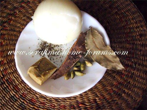 Курица, фаршированная рисом и фаршем. Джадж махшы. Араб.кухня 0e972be611fd