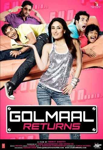 Возвращение веселых мошенников / Golmaal Returns (2008)  15ff6607dad9