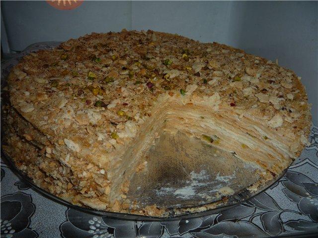 Торт Наполеон с нежным заварным кремом - Страница 2 B49e32e4f127