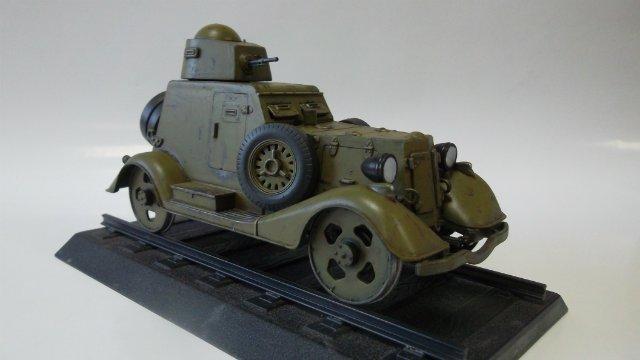 Бронеавтомобиль БА-20 Ж/Д, 1/35, (Старт). 9fcc08721c5b