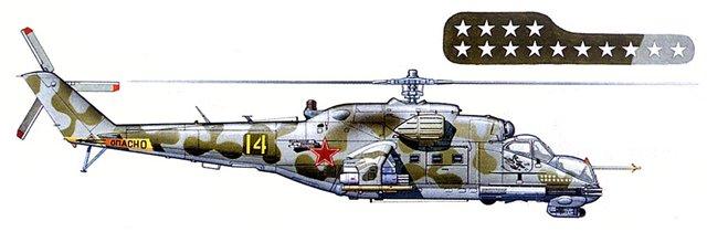 МИ-24В/ВП Звезда, сборка от БТТ шника 327989955d94