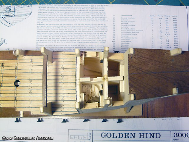 Галеон GOLDEN HIND (Золотая лань) ЖЕЛЕЗНОГО ПИРАТА масштаб 1:53 782e76196f0b