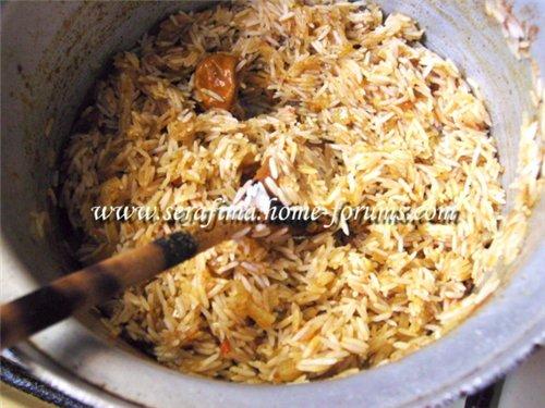 Кабсе (кабса). Красный прянный рис с курицей. Арабская кухня 9ba18aebd80f