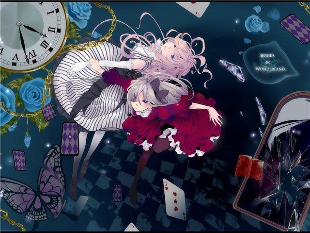 Арты на тему: 'Alice in Wonderland' 1f24e7e40bec