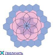 Магический числовой шестиугольник Cc15548dc390t