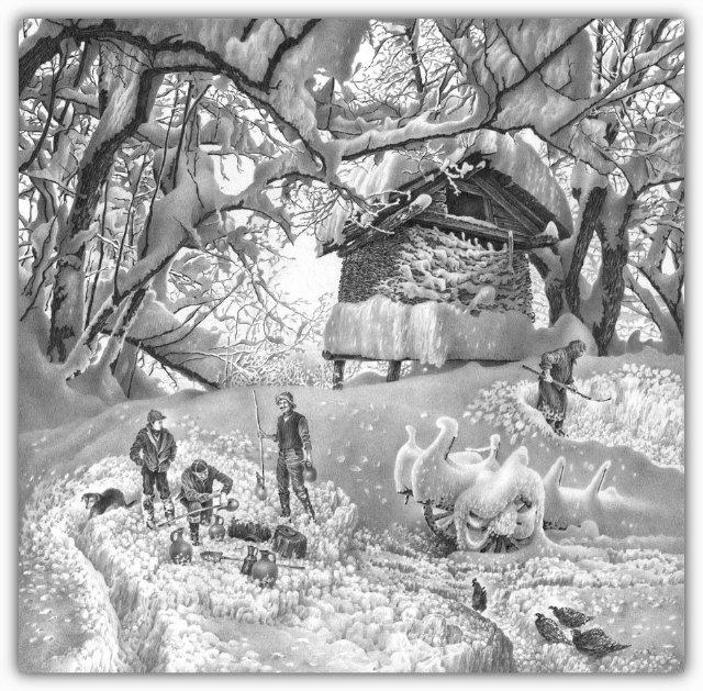 Снег, согревающий душу (Доленджашвили Г.) 4766cff8dc89