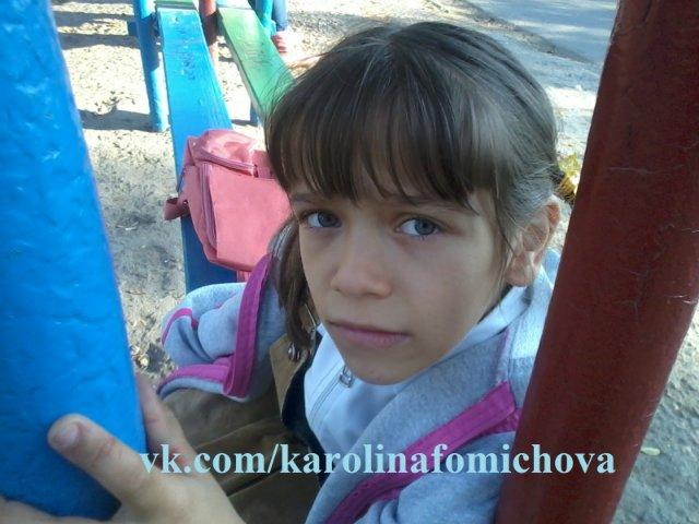 Каролина Фомичева, 7 лет, легкая форма ДЦП 5725ca6a50a2