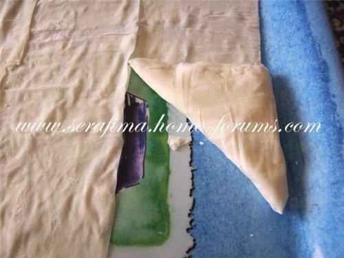 Самбусики из теста фило с творожно-сырной начинкой 27b47dbfae01