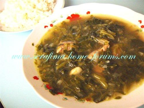 Шорба Сабаних. Суп со шпинатом. Араб.кухня 8a200c085f71