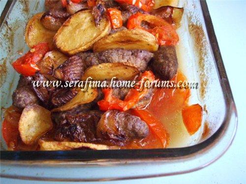Куфта с овощами. Арабская кухня 119dfee9f5c5