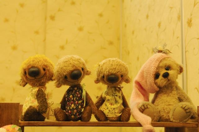 Международная выставка мишек тедди и кукол в Москве 695bedc36315