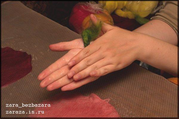 """Красный цветок"" (фотоурок) 634481f3917b"