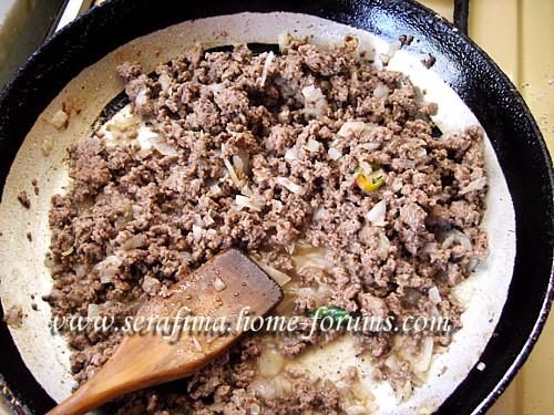 Куса макхши - фаршированные мясом кабачки в шорбе лябан. Араб.кухня De8986c33026