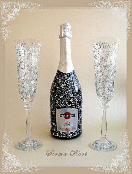 Красивые бокалы к новогоднему столу 7ab2c3eb5cb0