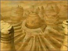 Територия деревни песка