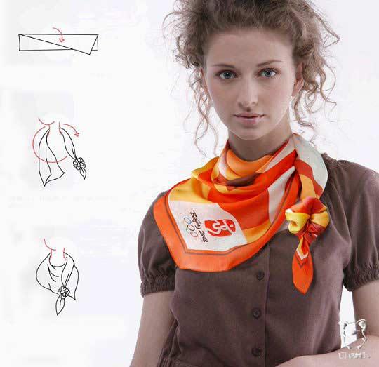 Искусство завязывать платок 5bf0260c61e9