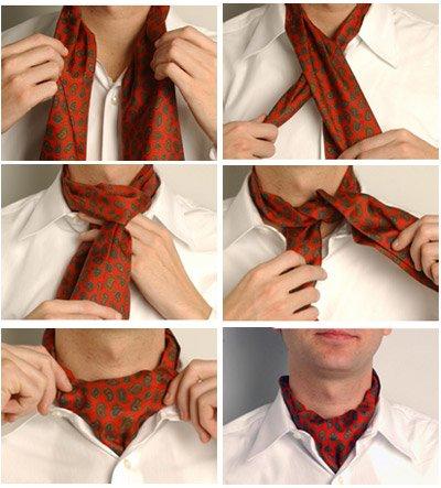 Научимся завязывать мужу галстук 2b5f1decc648
