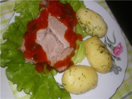 блюда - Мясо как оно есть, тушеное, вяленое, копченое. Блюда с мясом 6994d0455b1f