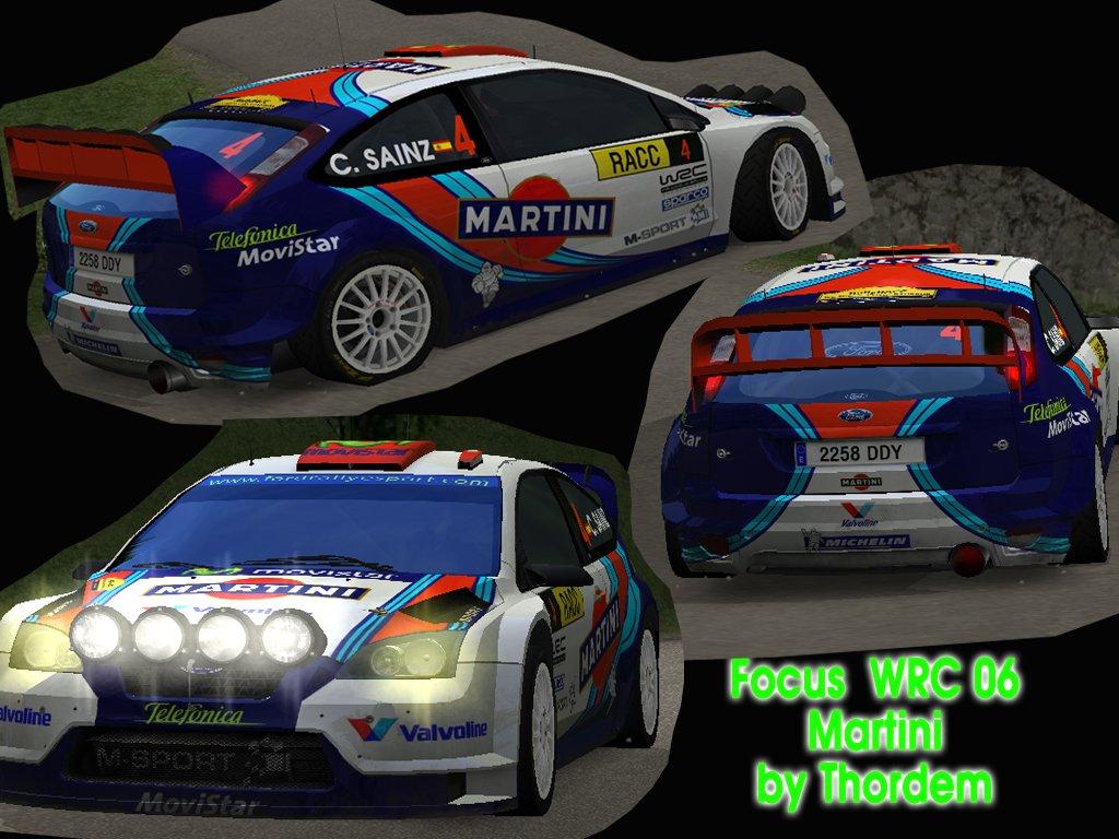 Ford Focus WRC 06 MARTINI   by Thordem Ba26bb5d163c