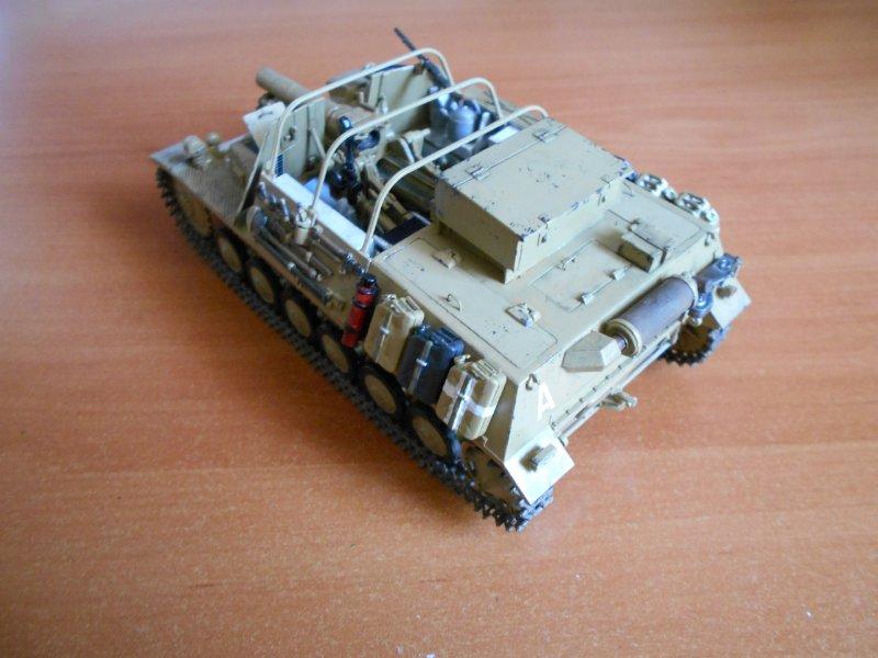 Немецкое 150-мм самоходное орудие Штурмпанцер II 1/35 (Арк модел) B6120f633479