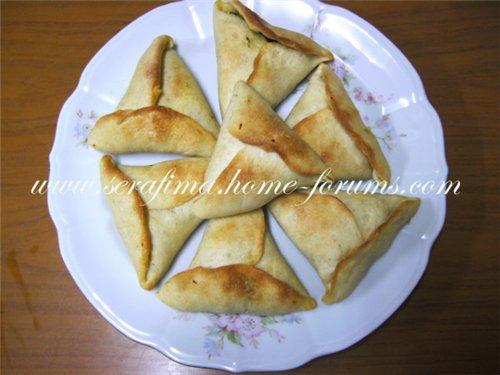 Пирожки со шпинатом. Араб.кухня A924ee839eea