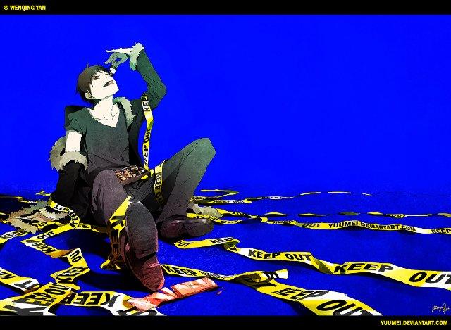 Арт по аниме «Дюрара!» (Durarara!!) 751bfd27c113