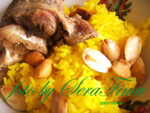 Мансеф - традиционный иорданский рис с бараниной и кефирной шорбой. Араб.кухня 887f171a1970