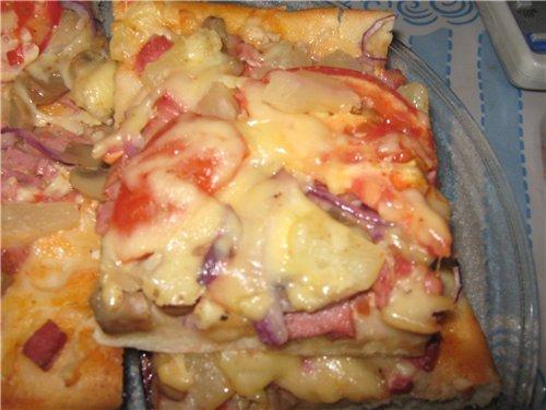 Пицца - нельзя не соблазниться.. Ae410284fd41
